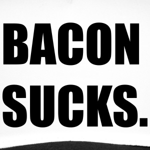 BACON SUCKS Caps & Mützen - Trucker Cap