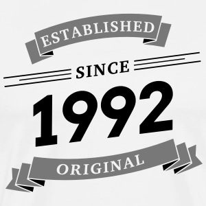 Established since 1992 - Männer Premium T-Shirt