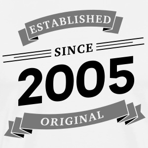 Established since 2005 - Männer Premium T-Shirt