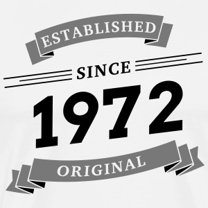 Established since 1972 - Männer Premium T-Shirt