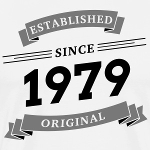 Established since 1979 - Männer Premium T-Shirt