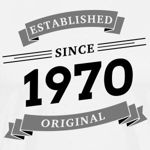 Established since 1970 - Männer Premium T-Shirt