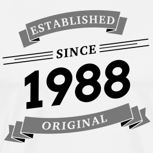 Established since 1988 - Men's Premium T-Shirt