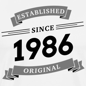 Established since 1986 - Men's Premium T-Shirt