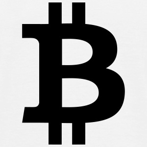 Bitcoin Sign T-shirts - Herre-T-shirt