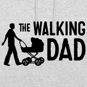 vatertag humor walking dad Pullover & Hoodies - Unisex Hoodie