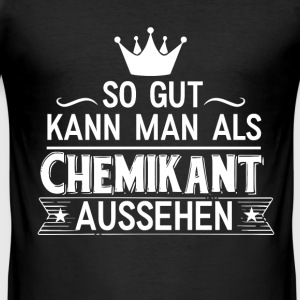 Chemikant T-Shirts - Männer Slim Fit T-Shirt