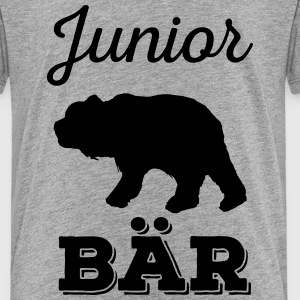 Junior Bär - Vater-Sohn Partnerlook Shirts T-Shirts - Kinder Premium T-Shirt