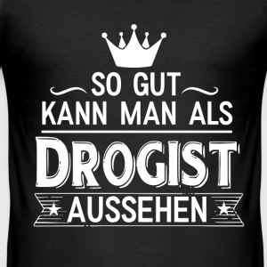 Drogist T-Shirts - Männer Slim Fit T-Shirt