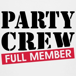 Party Crew full member Grappig drinking team  Shirts - Teenager Premium T-shirt
