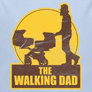 THE WALKING DAD VATERTAG  Baby Bodys - Baby Bio-Langarm-Body
