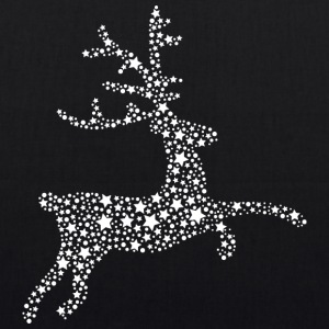 Deer of stars, reindeer Bags & Backpacks - EarthPositive Tote Bag