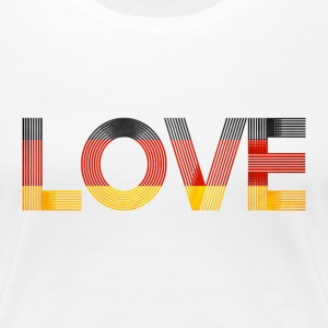 i love germany SHIRT WOMAN - Frauen Premium T-Shirt