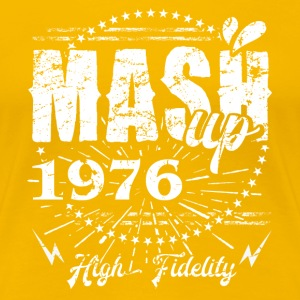 Cool Design MASHUP 1976 Street Fashion Streetware T-Shirts - Frauen Premium T-Shirt