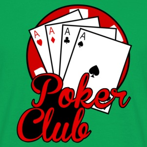 poker club Tee shirts - T-shirt Homme
