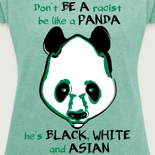 Panda no racist white