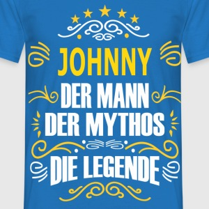 JOHNNY T-Shirts - Männer T-Shirt