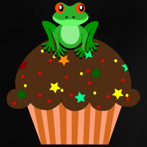Frosch-Cupcake Baby T-Shirts - Baby T-Shirt