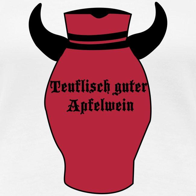 FRANKFURT DESIGN Teuflisch guter Apfelwein - Frankfurt Bembel