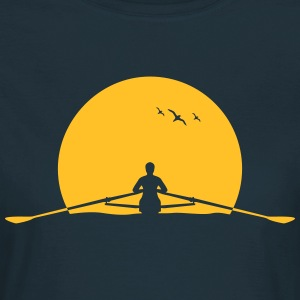 Rowing sunset rower rowing skulls T-Shirts - Women's T-Shirt