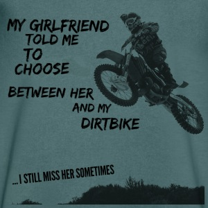 Dirt Bike Motocross T-Shirts design T-Shirts - Men's V-Neck T-Shirt