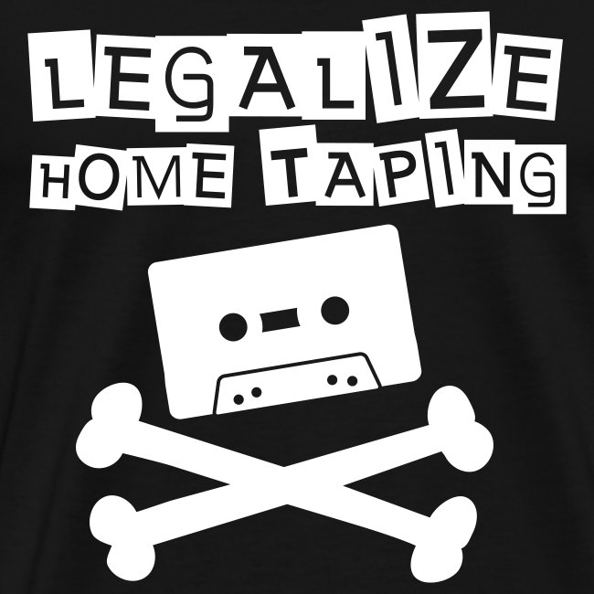 Legalize home taping