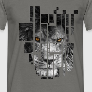 Pixel Lion Tattoo Inspire T-Shirts - Men's T-Shirt