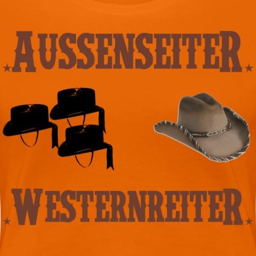 Außenseiter Westernreiter