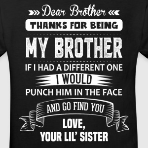 Dear Brother, Love, Your Lil Sister Shirts - Kids' Organic T-shirt