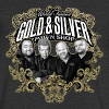 World Famous Gold & Silver Pawn Shop Stars - Men's Organic V-Neck T-Shirt by Stanley & Stella