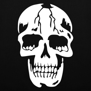Svart original death skull pirate Väskor - Tygväska