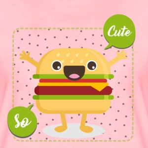 Rose Hamburger so cute Tee shirts - T-shirt Premium Femme