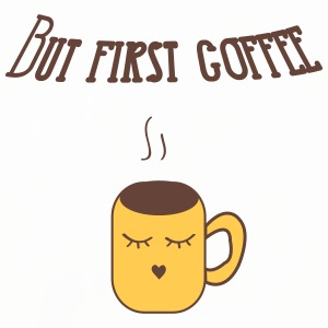 but_first_coffee Mugs & Drinkware - Coasters (set of 4)