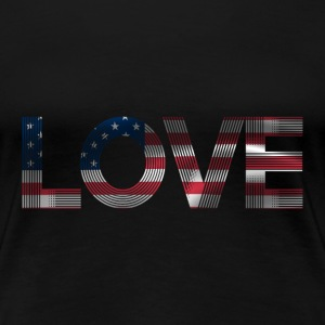 i love america SHIRT WOMAN - Frauen Premium T-Shirt