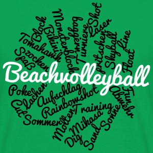 VolleyballFREAK Beach Cloud MP T-Shirts - Männer T-Shirt