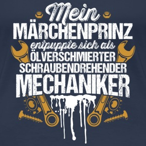 Mein Märchenprinz...Mechaniker T-Shirts - Frauen Premium T-Shirt