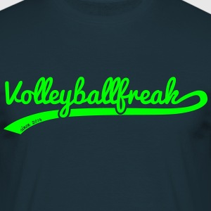 VolleyballFREAK swoosh - Männer T-Shirt
