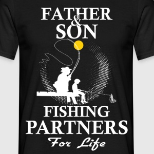 Father And Son Fishing Partners For Life T-Shirts - Men's T-Shirt