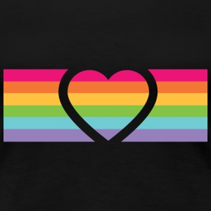 Rainbow Love T-Shirts - Frauen Premium T-Shirt