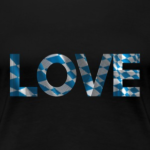 i love bavaria SHIRT WOMAN - Frauen Premium T-Shirt