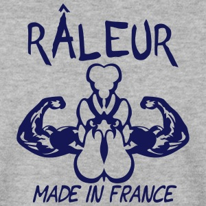raleur citation made in france coq emble Sweat-shirts - Sweat-shirt Homme