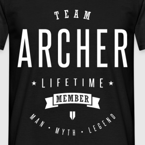 Archer Lifetime Member - Men's T-Shirt