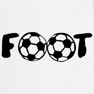 foot ballon mot football club Tabliers - Tablier de cuisine