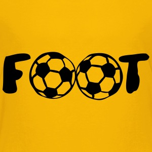 foot ballon mot football club Tee shirts - T-shirt Premium Enfant