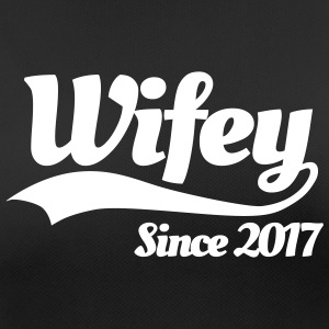 Wifey since 2017 (couples) T-Shirts - Women's Breathable T-Shirt