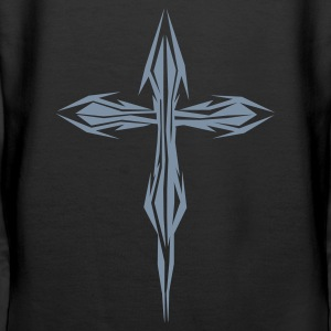 Black metal cross Jumpers  - Women's Premium Hoodie