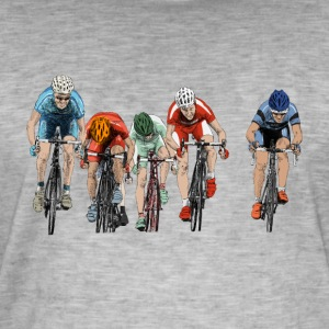 cycling Tee shirts - T-shirt vintage Homme