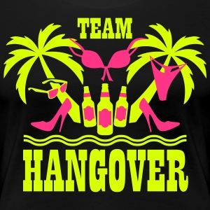 20 Team Hangover Palmen Bier Beach Party T-Shirt - Frauen Premium T-Shirt