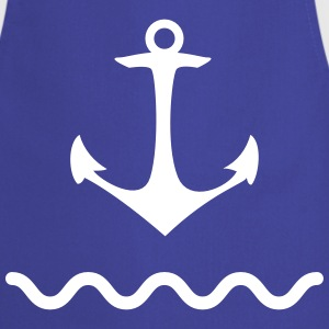 Anchor shaft water sea Kaptän port coastal ship  Aprons - Cooking Apron