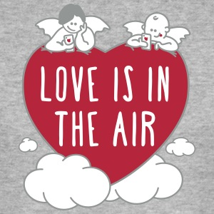 Raphael Engel : Love is in the air - Männer Slim Fit T-Shirt